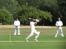 Nitin swashbuckles his way to a near fifty