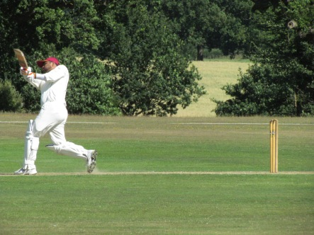 Hammad launches quick runs at the end