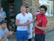 Waj receives the KCC MoM