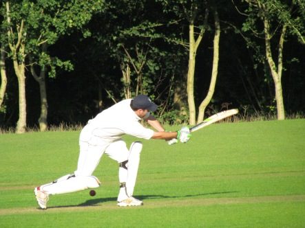 Will Stevens attacks as he steers Harpsden to a narrow victory in the last over