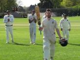 Tim after a terrific 157* that sets the tone for the season