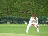 Shahzeb wicketkeeping
