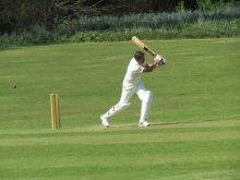 Deepak is bowled