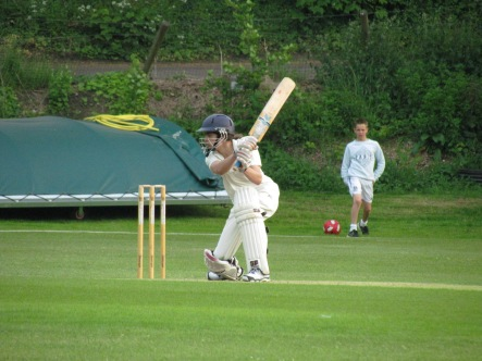 Stef square drives as we get to the final over