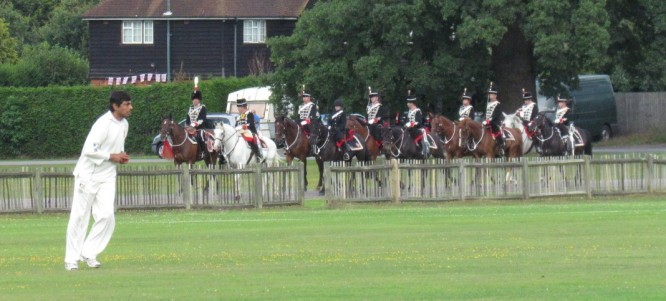 Amit Shanker faces the Queen's Cavalry?