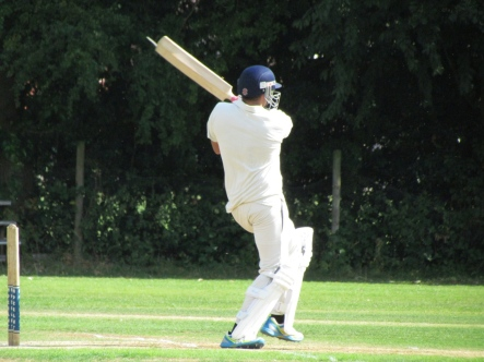 Sid Chhibbar strikes a four