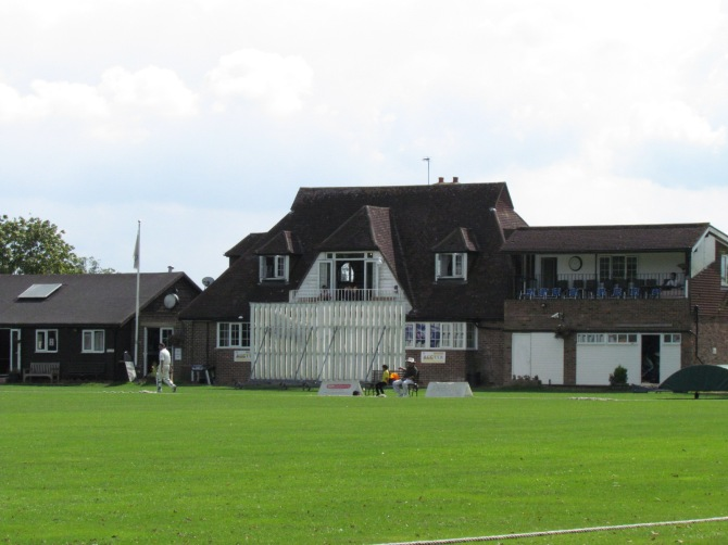 The pavilion at Harrow St Mary's