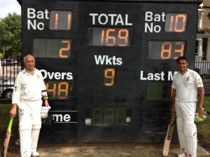 Deepak Ramachandra and Sunil Amar hit record 10th wicket stand for Kensington Cricket Club vs Old Westminsters