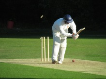 Jai bowled for 77 in just 55 balls