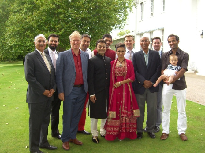 Many congratulations  to Tabrez and Riddhima!