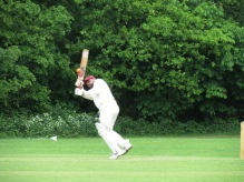 Another four put away by Hammad