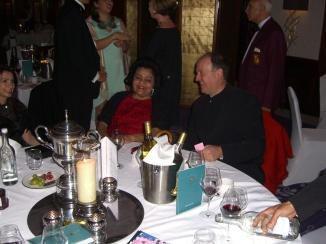 Meena and Robert