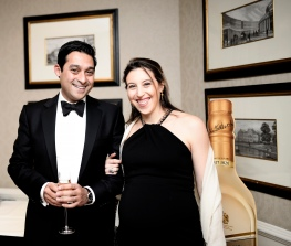 Nitin and Laura