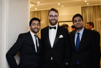 Arjun and James from Cobra Beer with Mahir