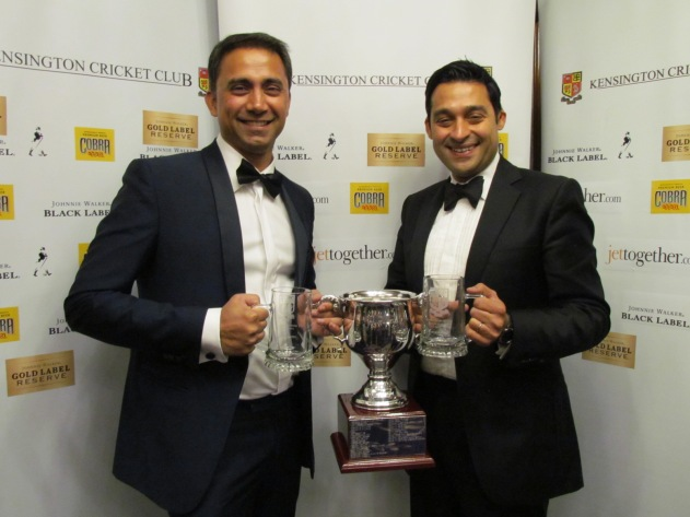 Deepak and Nitin - Joint Cricketers of the Year