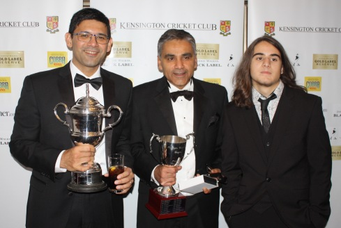 CUP WINNERS - Entertainer Saurav, Most wickets Neeraj, and Revelation Stefanos