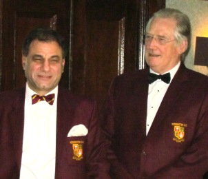 Lord Bilimoria with Vice President Anthony Rickard