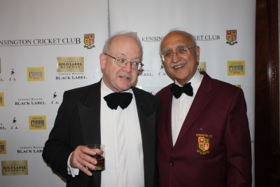 Peter Andrews with Club President Sunil Amar