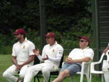Seethal, Regan and Wes enjoy the shots