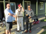 Man of the Match Rohan Ghosh picks up the Cobra Award