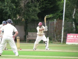 Neeraj hits a breezy 39 not out