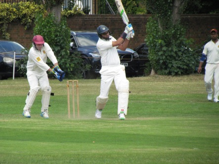 ...and leads the dramatic recovery, putting on 79 for the 8th wicket...