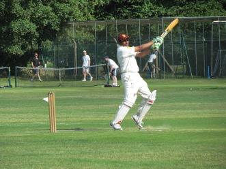 Amit Shanker cracks a boundary