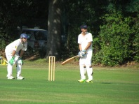 Rahul Sengupta shares an opening stand of 89 in 10 overs with Rahul Rege