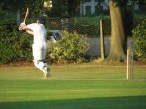 Tim in full flow as he cracks an unbeaten hundred in only 59 balls