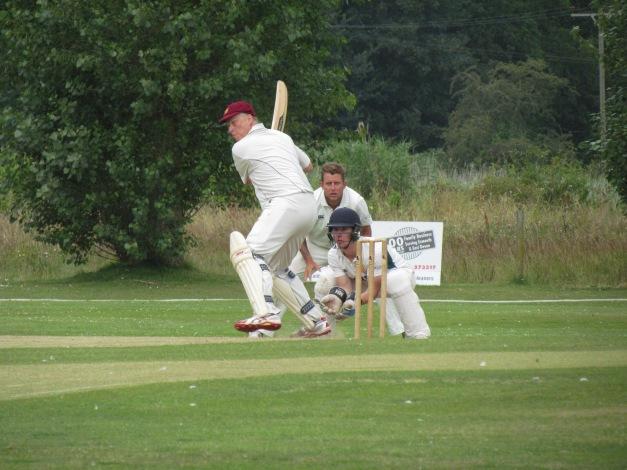 Chris Ledger in action