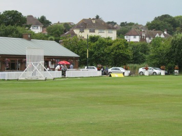 The pavilion at Budleigh Salterton