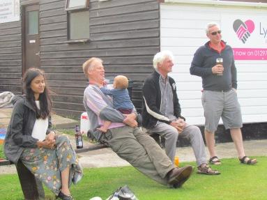 KCC spectators at Seaton
