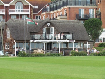 The pavilion at Sidmouth CC