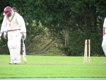 Neeraj bowled