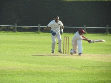 Rohan sweeps on his way to 83 not out