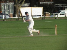 Chris Ledger gives it the charge but we fail to win