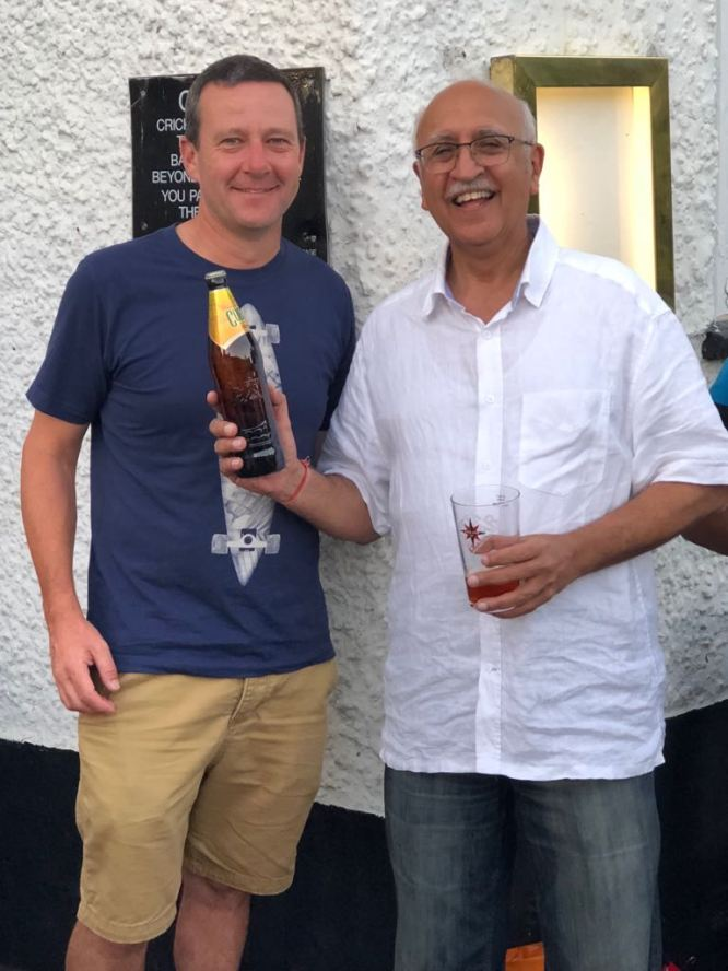 Sunil Amar wins the Cobra for his stunning bowling - 8/6/4/4
