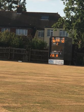 Almost home for a resounding 8 wicket win