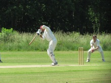 Amit Shanker contributes to a 67 run opening stand