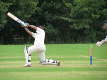 Harsha gets a quick 50