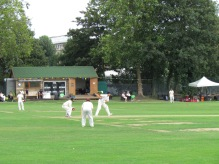 The temporary pavilion at Acton