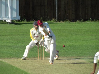 Elegant Nitin gives support in an 84 run partnership with Sid