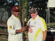 Pradip is KCC Man of the Match for his bowling