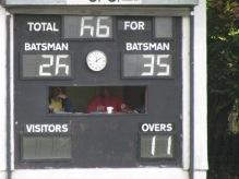 A six-runs-an-over start