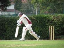 Raheel Khan's debut with 27