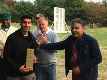 Asad Rehman wins the JW whisky for his all-round performance