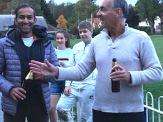 Rohan Ghosh gets the Cobra from skipper Zag