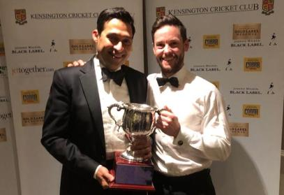 Cricketers of the Year - Nitin and Tim