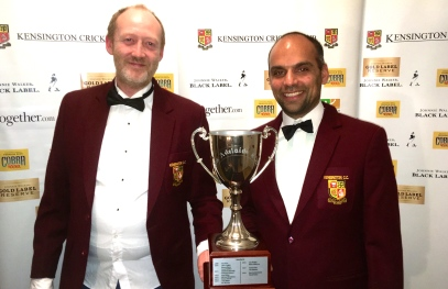 Ben and David with the Adelaide Cup