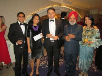 Chetan and Udayani with guests